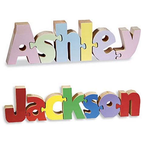 Name Puzzle Step Stool By Melissadoug by Personalized Kid S Room Decor From Personal Creations