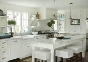 Cottage Style Kitchen Island White Cottage Kitchens Captainwalt Com