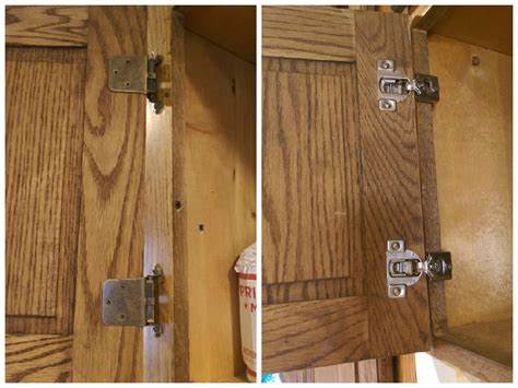 Replacing Kitchen Cabinet Hardware Changing Cabinet Hinges To Concealed Bar Cabinet