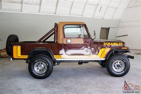Jeep Cj 8 Jeep Cj Scrambler Cj 8