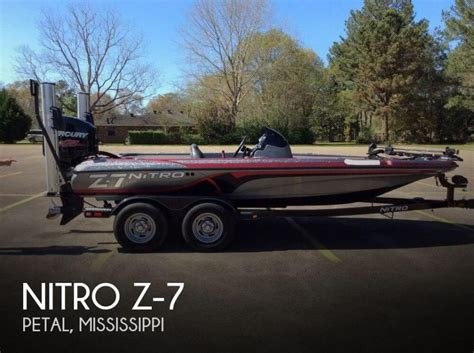 nitro z7 bass boat nitro z7 boats for sale