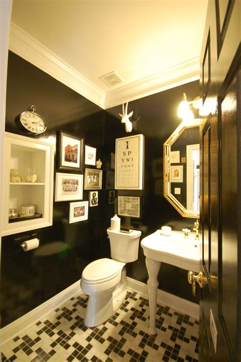 bathroom with black toilet 25 best ideas about black powder room on pinterest