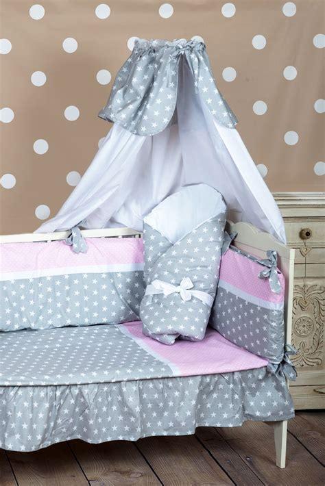 cubre cunas para bebes funda n 243 rdica para cuna colecci 243 n estrellitas banda rosa