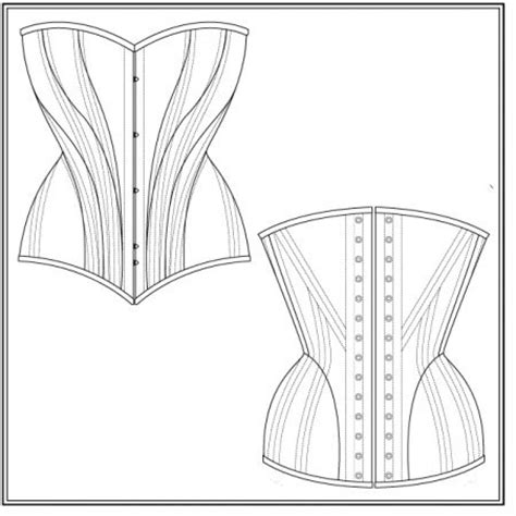 pattern corset download free pattern pink and curves on pinterest
