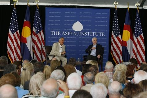 Aspen Institute Mba Study 2008 by A Conversation With Mccain Minnesota Radio News