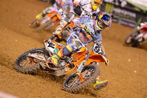 Ken Roczen Ktm 2014 Ama Supercross San Diego Results Motorcycle News