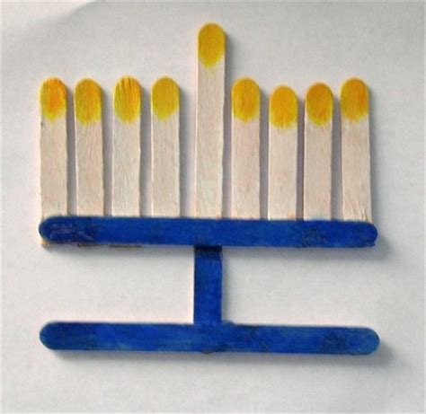 menorah crafts for how to make a menorah for suite101