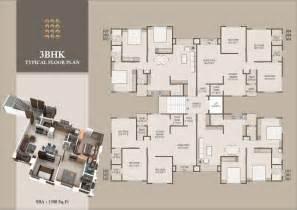 3 bhk apartment floor plan monalisa manjalpur in vadodara 2 bhk 3 bhk luxurious flats