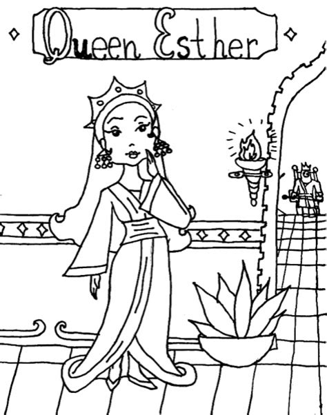 coloring pages esther queen bible queen esther coloring page coloring book