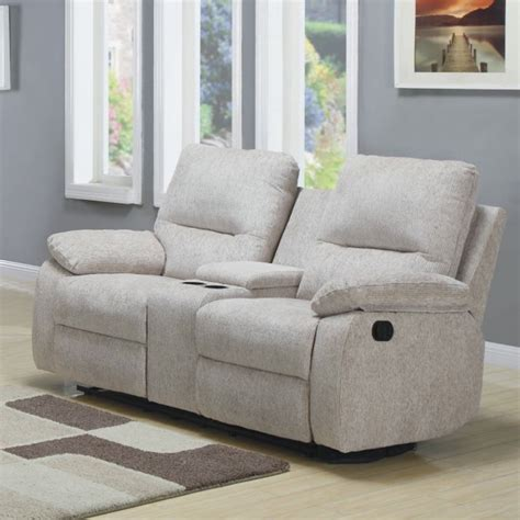 console loveseat homelegance marianna double reclining loveseat w center