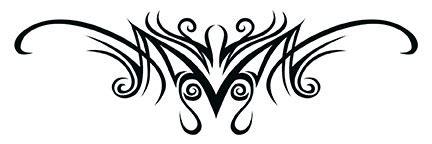 tattoo mawar tribal tato tribal mawar cliparts co
