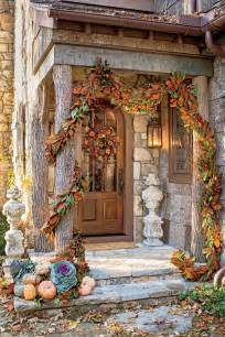 Fall Decorations For Outside The Home fall decorating ideas southern living