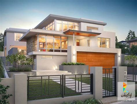 house design modern 2015 أحدث تصميم منازل مودرن 2015 لوكشين ديزين نت