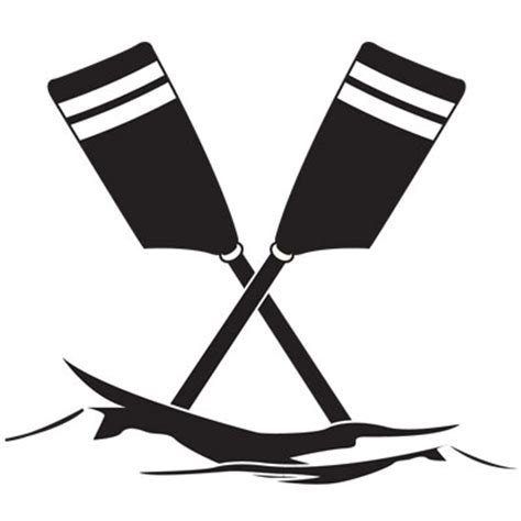 boat and oars clipart rowing cliparts