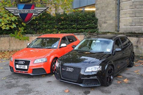 Audi A3 8p Facelift Conversion audi rs3 5 door body kit for audi a3 8p 2004 to 2009