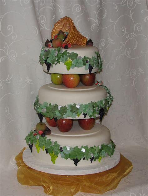 Wedding Cake Harvest by Wellington Cakes Harvest Wedding Cake