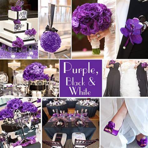 purple wedding color combination options wedding
