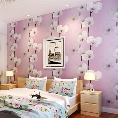 fototapete dachschräge schlafzimmer einrichten romantisch