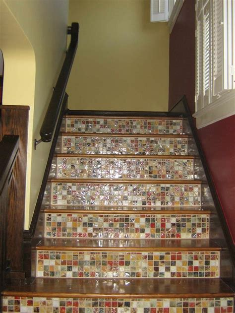 treppenstufen fliesen tile and wood staircase stairs tile