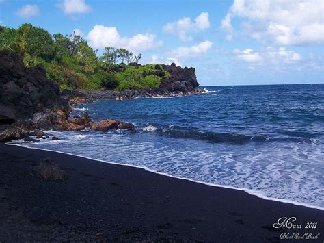 black sand beach maui maui black sand beach places i ve been luckily able to