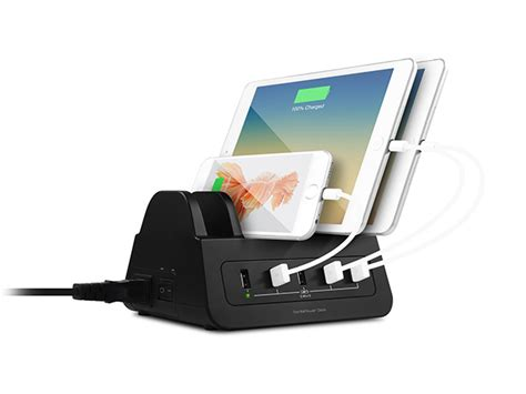 high tech katedra desk that charges your phone turn your desk into a high powered charging station with 5