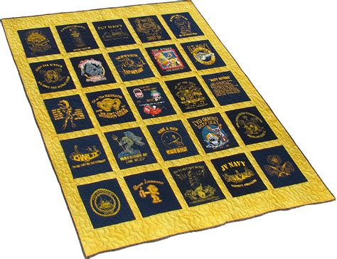 Us Navy Quilt by Quilt Gallery Quilts Made From T Shirts Images Of Quilts