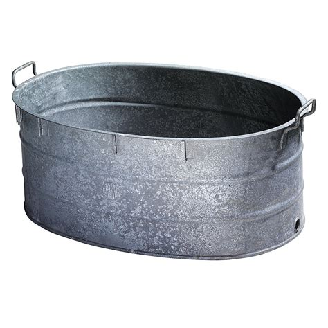 Vintage Bathtubs D 233 Co Bassine En Zinc Originale Amp D 233 Coration Chez Decowoerner