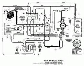 lawn mower wiring diagram