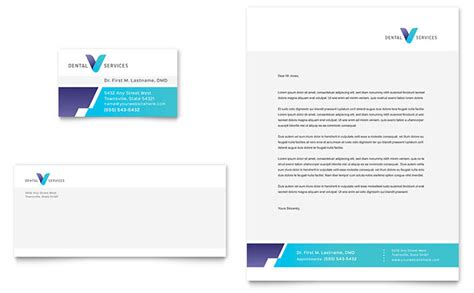 Indesign Sided Business Card Template Letter Paper by Dentist Business Card Letterhead Template Design