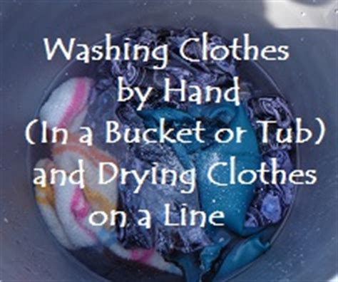 hand wash clothes in bathtub washing clothes by hand and tips for line drying