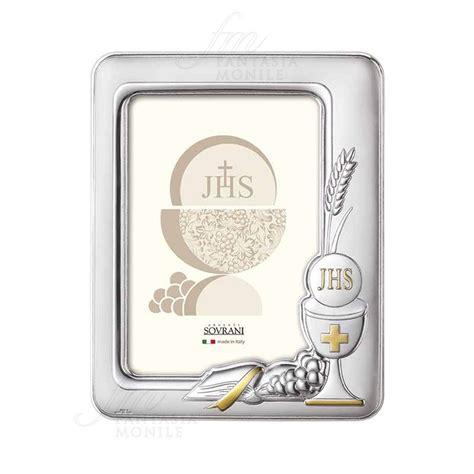 cornice portafoto cornice comunione portafoto lamina argento sovrani w520