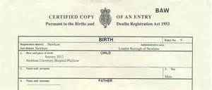 Birth Certificate Issue Letter birth certificate overseas apr 30 2015 by admin apostille certificate