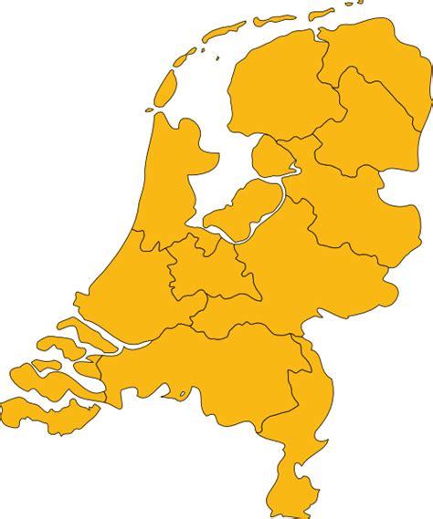 netherlands map eps netherlands map clip at clker vector clip