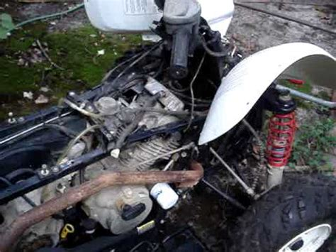 yamaha jet boat plug stuck carb and fuel lines video youtube