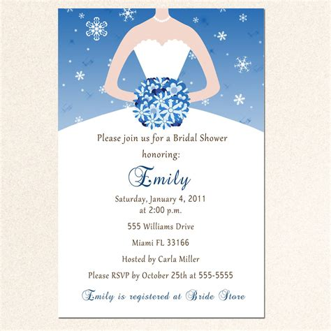 show card templates bridal shower invitation templates bridal shower