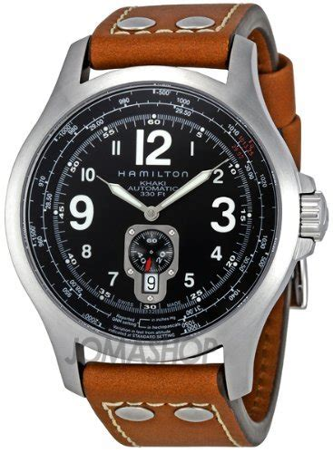 Hamilton Men?s H32351735 Jazzmaster Black Dial Watch   UK Watches Store