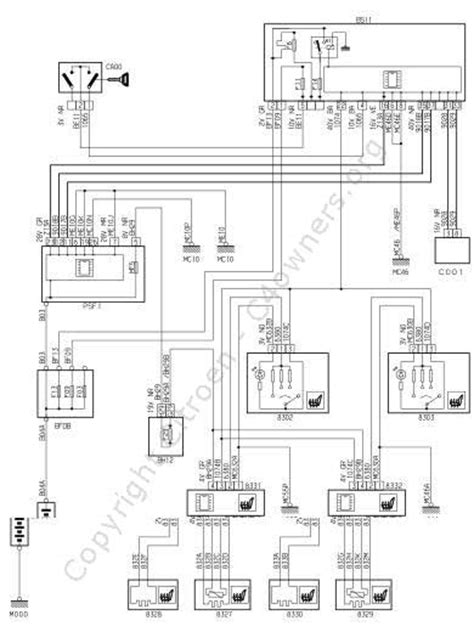 citroen c4 wiring diagram wiring diagram free wiring