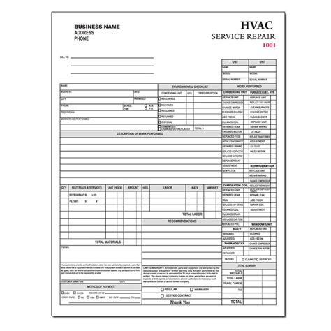 Product Details Designsnprint Hvac Price Book Template