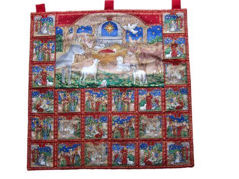 Fabric Advent Calendar Nativity Fabric Advent Calendar Advent Calendars Fabric
