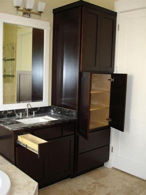 Bath Linen Vanity   Contemporary   Bathroom   Houston   by