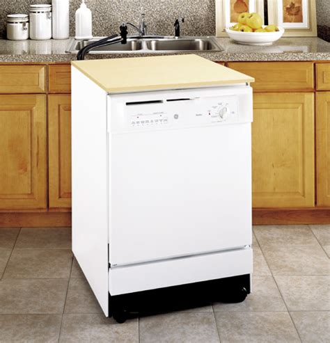 Ge The Sink Dishwasher by Ge 174 Convertible Portable Dishwasher Gsc3400jww Ge
