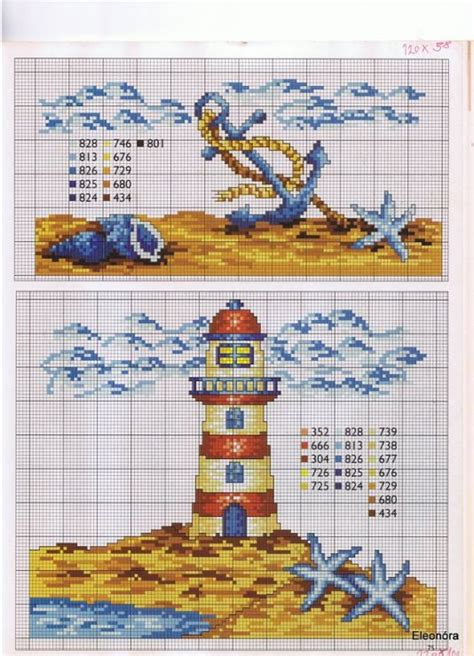 264 best cross stitched lighthouses images on pinterest 158 best lighthouse nautical plastic canvas images on