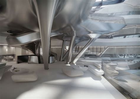 zaha hadid interior a luxurious spaceship take a look inside the me dubai hotel by zaha hadid luxurylaunches