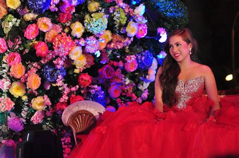 Passion Party Decoration Ideas Julia Montes Is The New Face Of Debut By Juan Carlo The