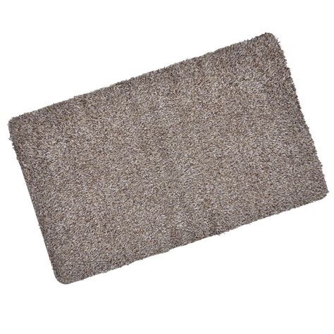 Rubber Door Mat Absorbent Barrier Door Mat Non Slip Rubber 70x45cm
