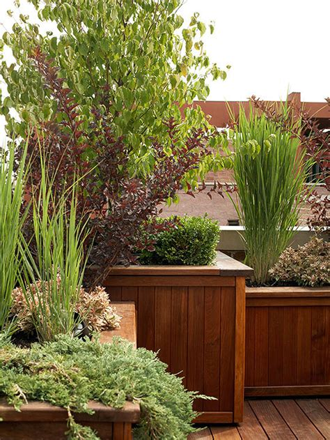 13 tips to make your deck more private planters decks