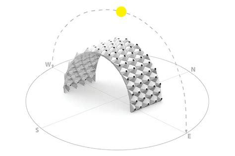 design lab ohio design lab workshop s solar bytes pavilion reacts to solar