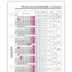 Planovaci Kalendar 2018 Defenes česk 253 Pl 225 Novac 237 Kalend 225 ř 2018 A6 B 237 L 253 Pap 237 R 1