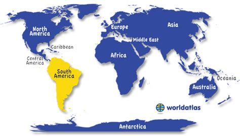 world map and south america south america countries capitals currencies