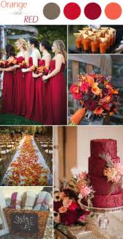 autumn wedding colors 6 practical wedding color combos for fall 2015